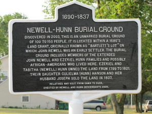 Newell-Hunn sign