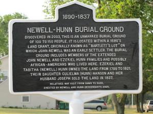 Newell-Hunn sign